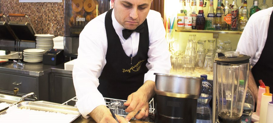 Coffee barista